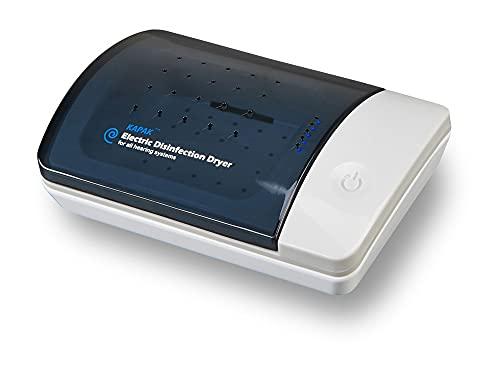 Kapak Elektronischer Ultraviolett C Reiniger und Trockner für Hörgeräte und Luftentfeuchter, automatischer Trockenkoffer