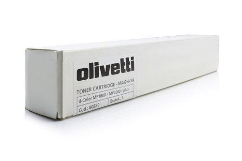 Tóner original Olivetti B0889–1Cartucho de tinta–Magenta–2.500páginas–para d-Color MF 2000