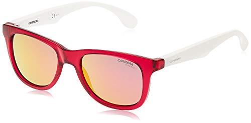 Carrera Junior CARRERINO 20 VQ JQO Gafas de sol, Blanco (WHTPK ROSEGD/PINK MULTILAYER), 46 Unisex-Niño