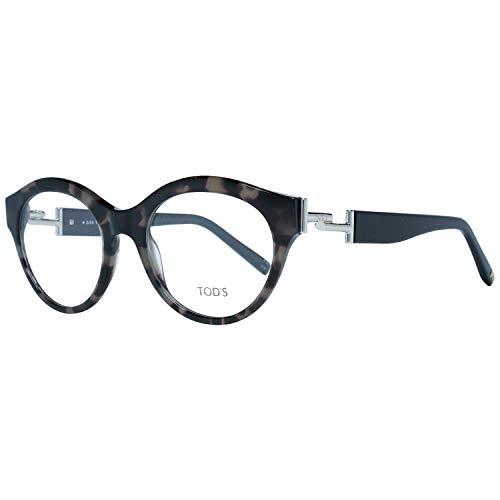 Tod's Unisex-Erwachsene TO5173 Sonnenbrille, Braun (Avelana), 51.0