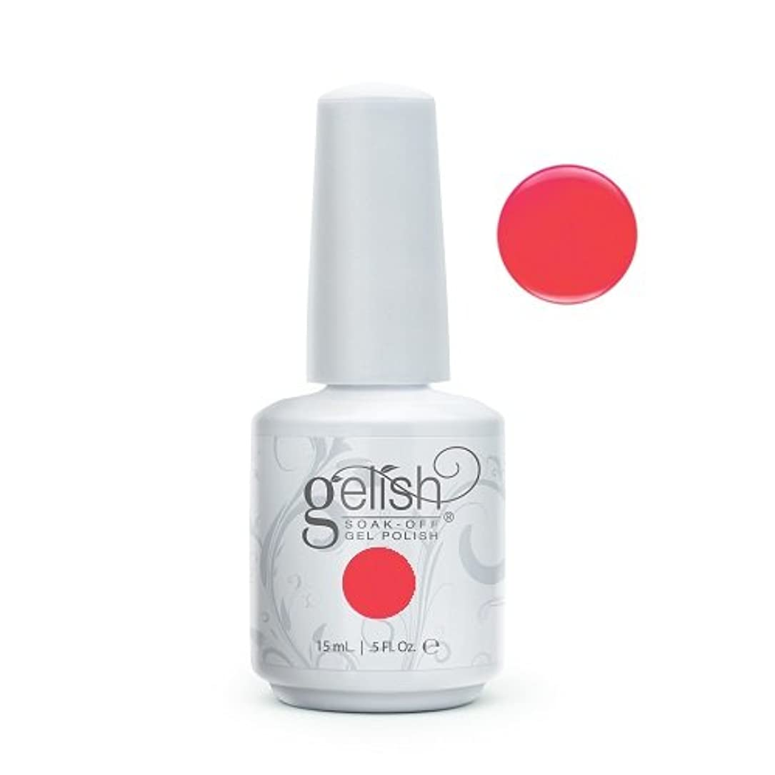 含意油調和のとれたHarmony Gelish Gel Polish - Manga-Round With Me - 0.5oz / 15ml