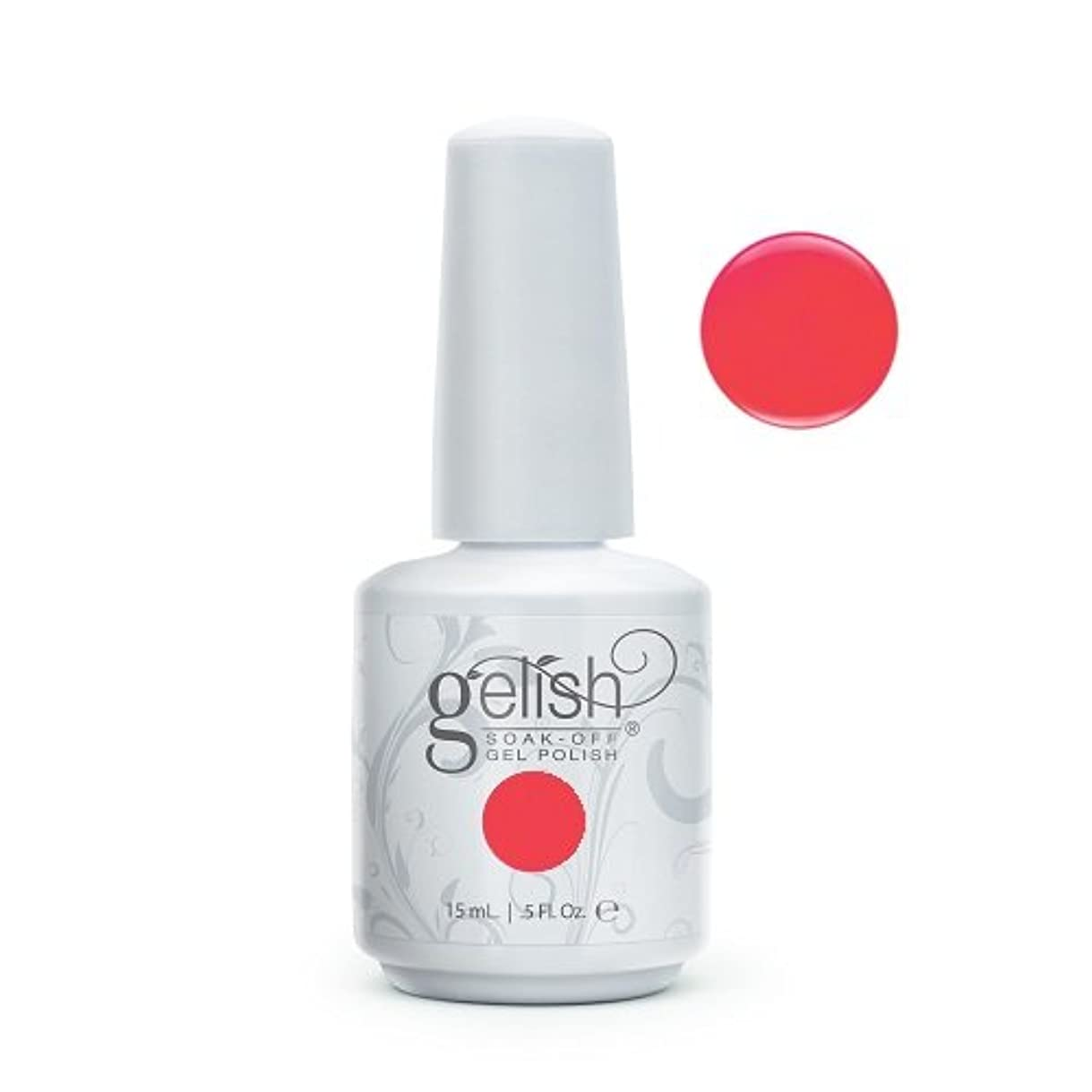 感心するドール潮Harmony Gelish Gel Polish - Manga-Round With Me - 0.5oz / 15ml