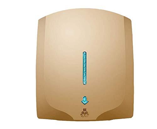 XINTONGTONGH Mini-Handtrockner zur Wandmontage, schnell trocknend und energiesparend für den gewerblichen Gebrauch, 2000W,6