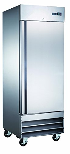 29' Commercial Reach In Stainless Steel Refrigerator CFD-1RR