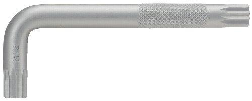 KS Tools 151.4105 Classic Vielzahn - Llave hexagonal acodada (M10)