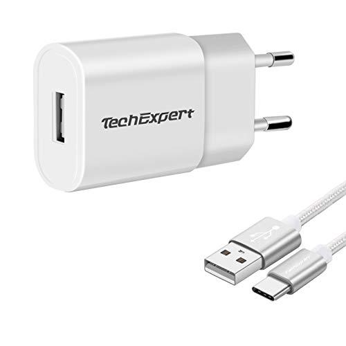 TechExpert Ladekabel für ASUS Zenpad Z301 Z301M Z301ML Zenpad 3S 10 Z500M Tablet Weiß