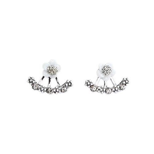 Auplew Pendientes de Moda exquisitos para Mujer con Perlas