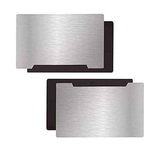 HzdaDeve Plataforma de impresión de resina para impresora 3D 135 x 75 mm placa de acero flexible magnética para impresora ELEGOO Mars Pro Wanhao D7 Monoprice Deluxe SLA