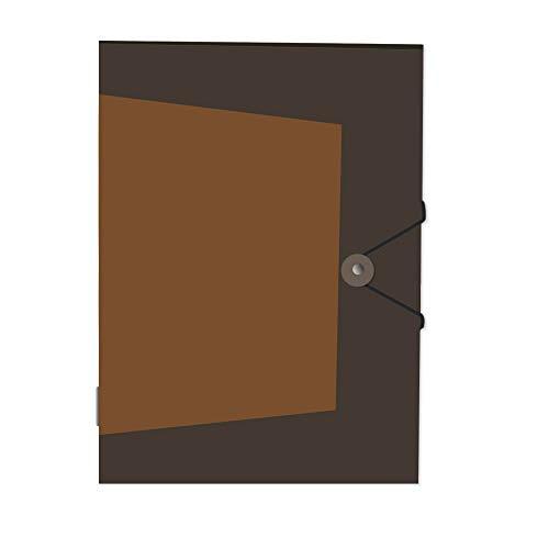 A4, 25 unidades color transparente Carpeta con clip Q-Connect KF02138