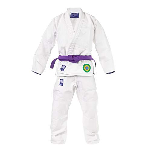 Role Bonito Kimono Jiu-Jitsu Brasileño Blanco Essential (BJJ Gi) (A3)