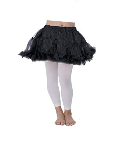 Horror-Shop noir Enfants Petticoat
