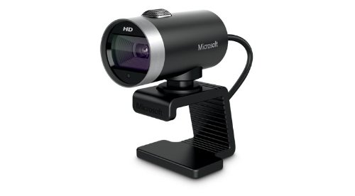 Microsoft 6CH-00002 LifeCam Cinema Webcam (5 Megapixel, 1280 x 720 Pixel, USB 2.0)