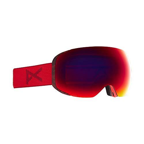 Anon M2 - Gafas para hombre con lente de repuesto, color rojo