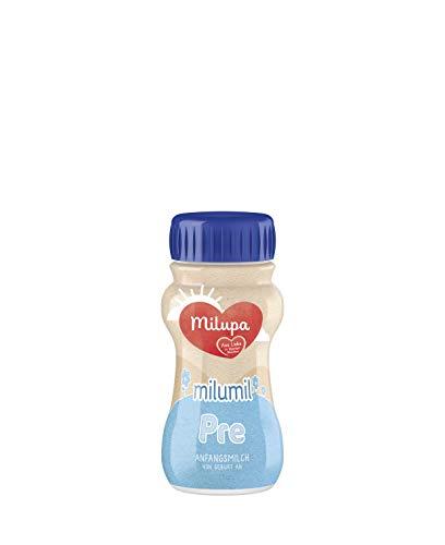 Milupa Milumil PRE, Anfangsmilch von Geburt an, Baby-Milchnahrung trinkfertig (1 x 200 ml)