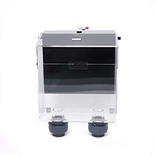 Fetcoi SOB-2 Aquarium Überlauf Box Aufhängen Überlaufkastens Wasserfilter Überlaufbox Große Schwarze, Siphonüberlauf