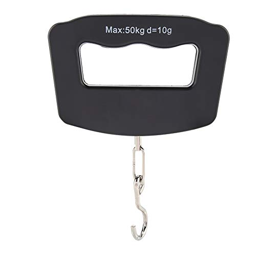 Tamaño de bolsillo LCD Digital Electronic Hanging Scales Balanza de pesaje de gancho portátil Carga máxima 50Kg