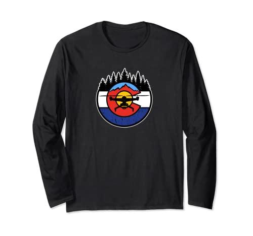 Colorado Drone - CO Logo Maglia a Manica