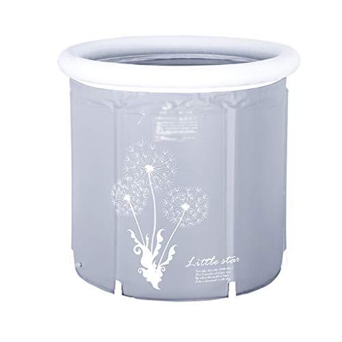 NXYJD Plegable Bañera de hidromasaje, Baño Soporte balde de casa Espesado de Aislamiento, Disponible en Todas Las Estaciones