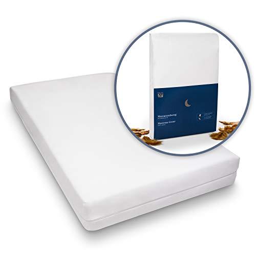 Blumtal Matratzenbezug für Allergiker, Milbenbezug - Matratzenschutz Encasing, atmungsaktiv, 90x200cm, 1er Set
