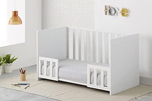 COOL · DREAMS - Barandilla blanca para cunas colecho convertibles en cama Cool-Dreams