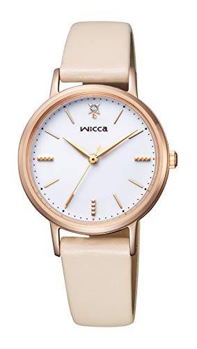 [シチズン] 腕時計 ウィッカ ソーラーテック #ときめくダイヤ KP5-166-10 レディース