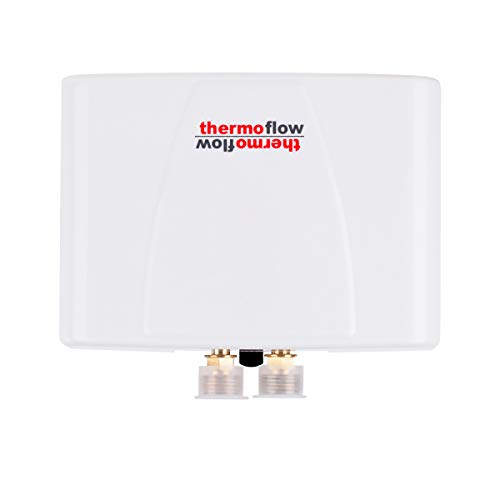 Thermoflow 3.5KW Mini Tankless Water Heater Electric, Elex3.5 Point of Use On Demand Instant Hot Water Heater for Sink Wash Only Wall Mounted, CSA Certified 4.7kW at 240 Volts Wall Mounted