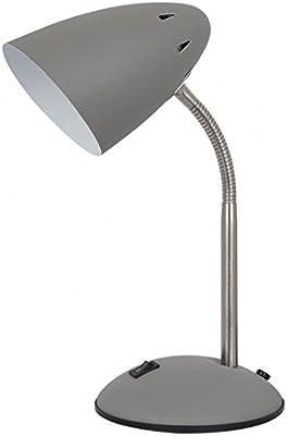 Lámpara Flexo de Mesa de Metal Verde clásica para Dormitorio ...