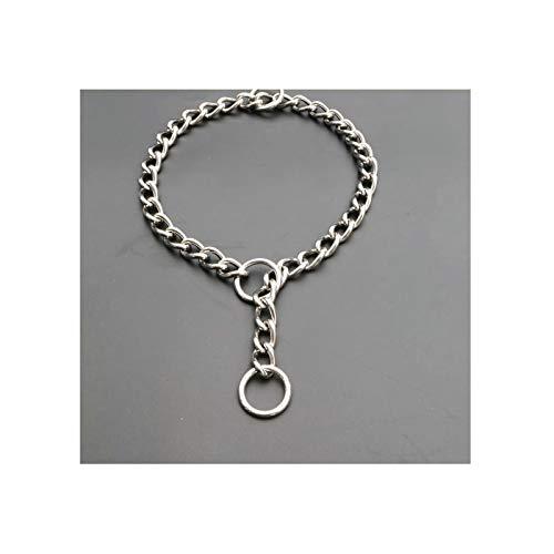 Aeici Halsbänder, Geschirre & LeinenEdelstahl Halsband für Hund 304 Hundekette Aus Edelstahl 2.5mmx35cm