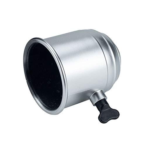 XKSO-QPTY Cuerpo sintético de Cuerda Remolque Bola Bola de Enganche de la Cubierta de Goma Cubierta Se Adapta a 50mm Plata Diámetro Herramienta de cabrestante (Color : Silver)