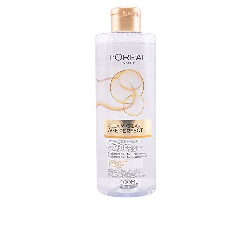 Desmaquillante agua micelar age perfect 400 ml.