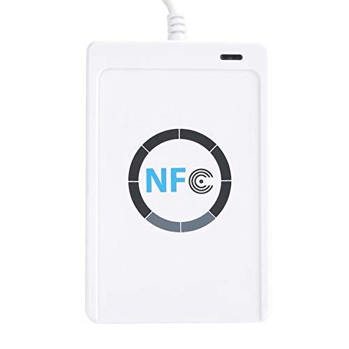 IC-Kartenleser, Dekaim NFC-RFID-Leser/-Schreiber ACR122U ISO 14443A/B + Freie Software in Weiß