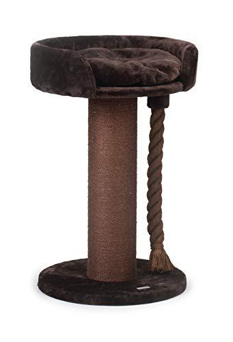 Beeztees Kratzmöbel Tura L: 60 cm B: 60 cm H: 100 cm braun