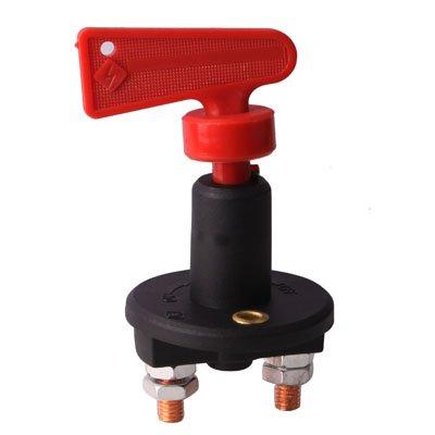GUPENG Interruptores de botón eléctricos para automóviles Coche giratoria de la batería, Interruptor General eléctrico