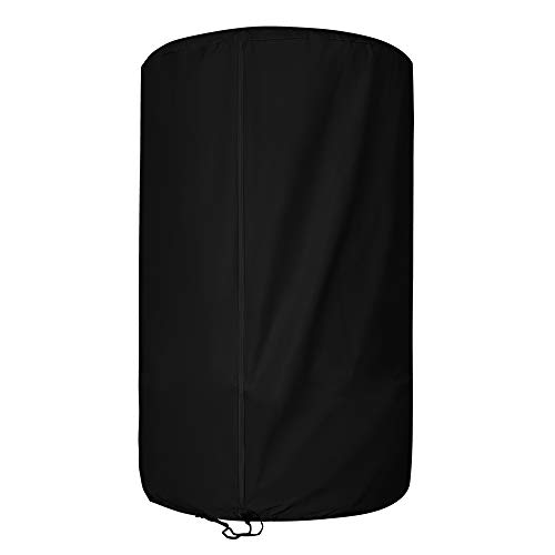 AKEfit Tire Cover Waterproof Durable Tire Storage Bag Car Spare Tire Cover Oxford Polyester Fabric Cover Suit for Jeep,Trailer,RV,SUV,Truck 73cm x 110cm