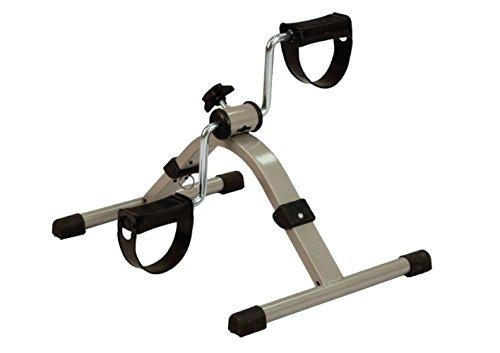 TERMIGEA Pedaliera / Cyclette Pieghevole, con Manopola di Regalazione di Intensità dello Sforzo, Riabilitiva, Ideale per Anziani o Disabili, Facile da Piegare e Comodo da Trasportare