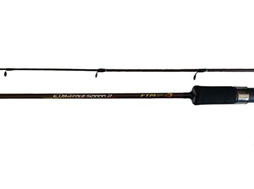 FTM Forellenrute Trout Spoon 2 - Steckrute zum Forellenangeln oder Ultra Light Angeln - Länge 1,81m -WG: 1,3-8,5 gr.