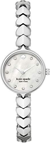 [ケイト・スペード ニューヨーク] 腕時計 HOLLIS KSW1590 レディース 正規輸入品 シルバー