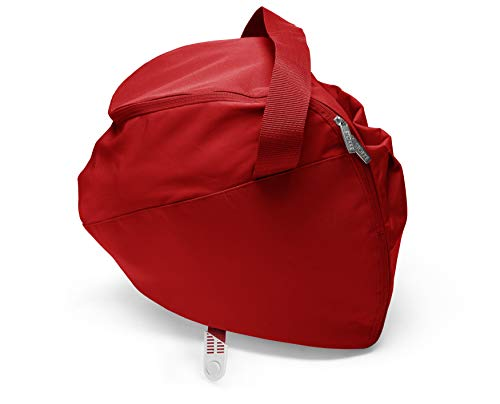 STOKKE® Xplory® Einkaufstasche - erweiterbare Tasche mit praktischen Tragegriffen - 30 Liter Fassungsvermögen - Farbe: Red