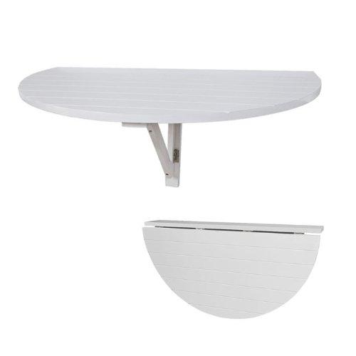 SoBuy FWT10-W Wandklapptisch Küchentisch Esstisch Kindermöbel Weiß