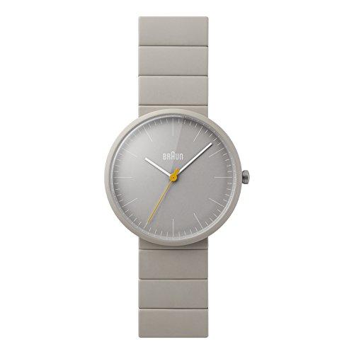 Braun Herren Analog Quarz Keramik Armbanduhr BN0171GYGYG