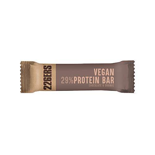 226ERS Vegan Protein Bar, Barritas de Proteína Veganas, Chocolate con Naranja - 1 barra