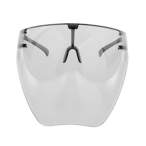 Perfeclan Gafas de sol antiniebla gafas Unisex Visor protector de cara completa Gafas de lente - Negro