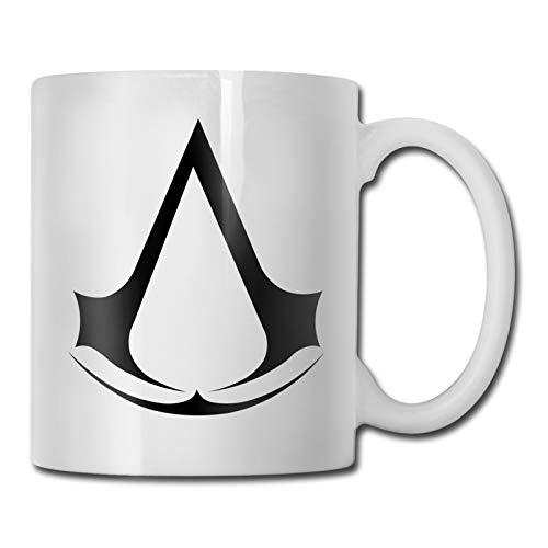 An Interessant Cup About Assassins Creed Kaffeebecher, ideal als Geschenk Das beste Ruhestandsgeschenk für Mama und Papa