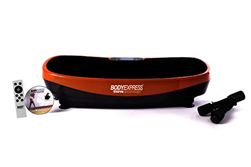 Check Out This BODY EXPRESS with Curve Technology Vibration Platform by Tony Little – 1 Workout DV...