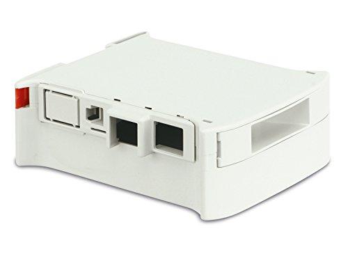 Markenlos Hutschienen-Gehäuse für Raspberry Pi Model B, Kit 45 (10.0052450.RPI)