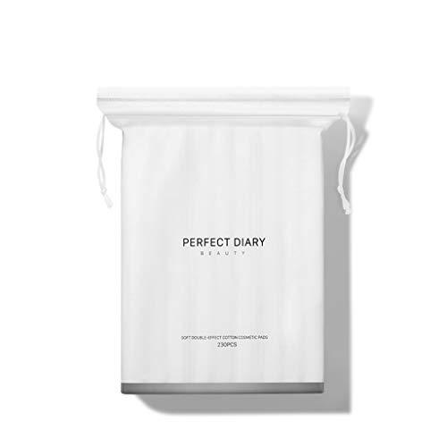 DUOER HOME Gesichtsmake-up Entferner Make-up-Baumwollentferner Baumwollentferner Mit Gesichts-Nasskompresse Spezial-Make-up-Entferner Boxed Hydrating Special Face (Color : White)