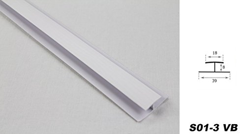 Zubehör für PVC Paneele, Deckenpaneele, Wandpaneele, Innen, Platten S01-3, Art:Verbinder