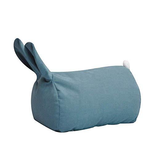 HUAXUE Poltrone Single Sedia Single Lazy Lazy Divano Single Baby Bedroom Bambini Phin Lazy Sedia Tatami Bean Bag (Colore: Rosa, Dimensioni: 38 * 55 * 28 cm) (Colore: Blu, Dimensioni: 38 * 55 * 28 cm)