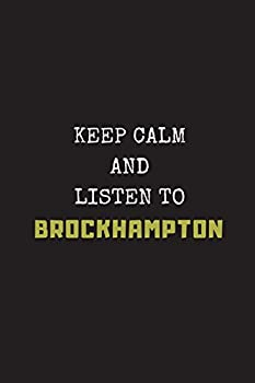 Keep Calm And Listen To Brockhampton  Composition Note Book Journal