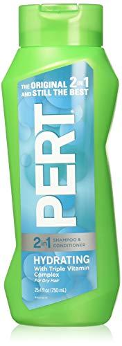 Pert Haarpflege - Feuchtigkeits - 2 in 1 Shampoo & Conditioner - Nettogew. 25,4 FL OZ (750 ml) pro Flasche - Eine (1) Flasche
